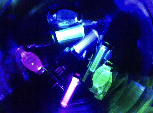 Barang Unik Lampu Ban LED Tutup Pentil Roda Nyala Keren